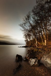 Coniston Water, formerly known as Thurston Water, the third largest lake in the English Lake District National Park.