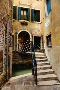 Picturesque narrow canals which all feed into the Grand Canal, located in the UNESCO World Heritage Site of Venice.
